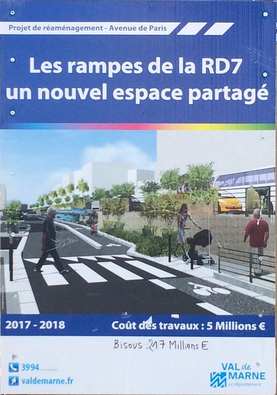 Les rampes de la RD7, un nouvel espace partagé.